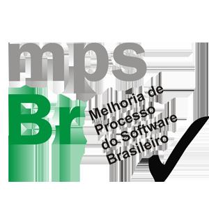 Símbolo oficial do programa MPS.BR