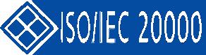 Símbolo logo ISO 20000