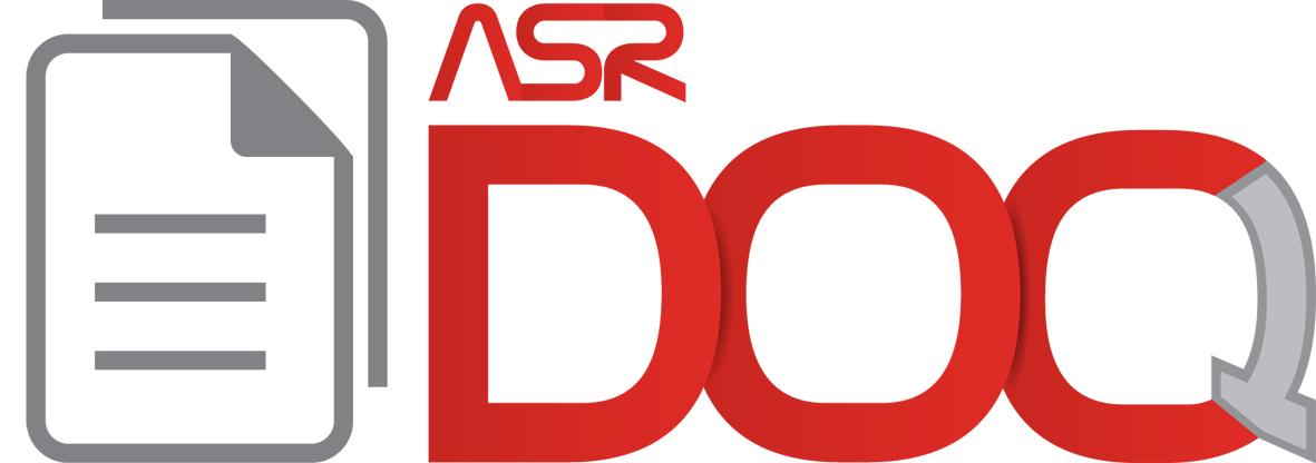 Logo oficial da ASR Doc