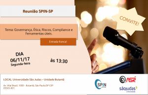 Reunião SPIN-SP – Governança, Ética, Riscos, Compliance e Ferramentas
