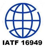 Logo oficial da certificação IATF 16949